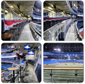 Rogers Centre new seating