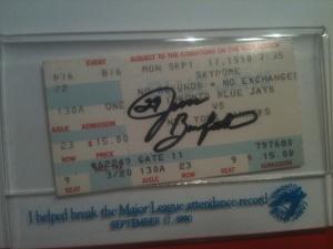 Jays Yanks 1990