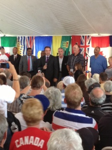 Rod Black, Hall of Fame Inductees, Cito Gaston, Tom Henke