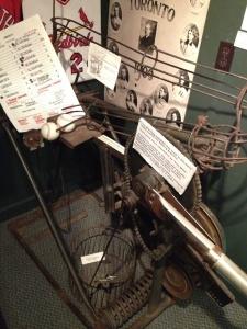 1940's Pitching Machine