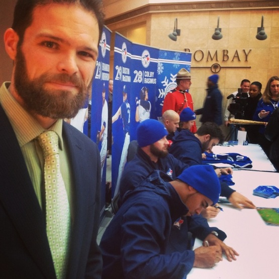 Blue Jays Winter Tour Mississauga