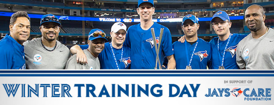 Jays Winter Training Day 2014